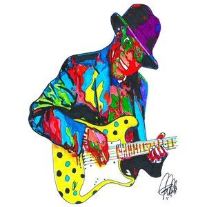 Buddy Guy Singer Guitar Chicago Blues Poster Print